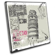Italy Pisa Abstract Landmarks - 13-0078(00B)-SG11-LO